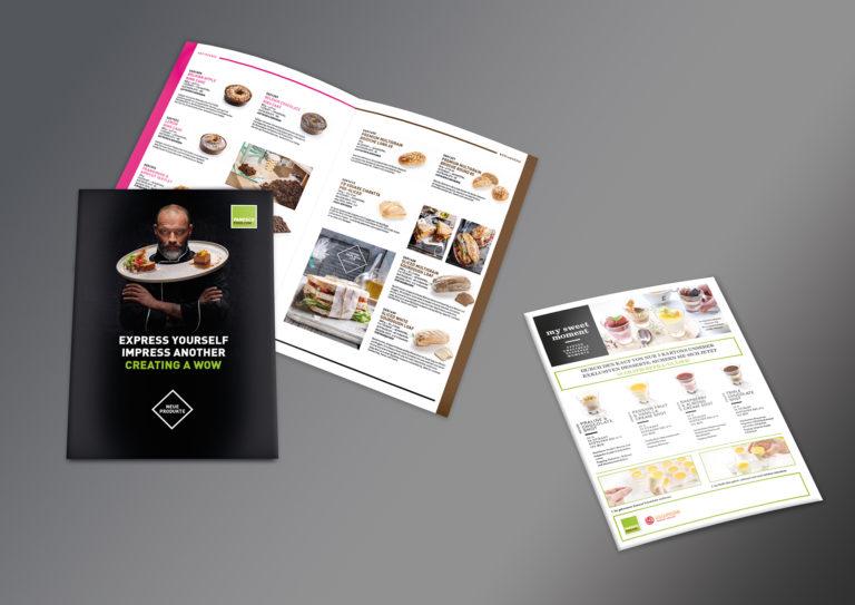PU Einblick: Broschüre und Flyer