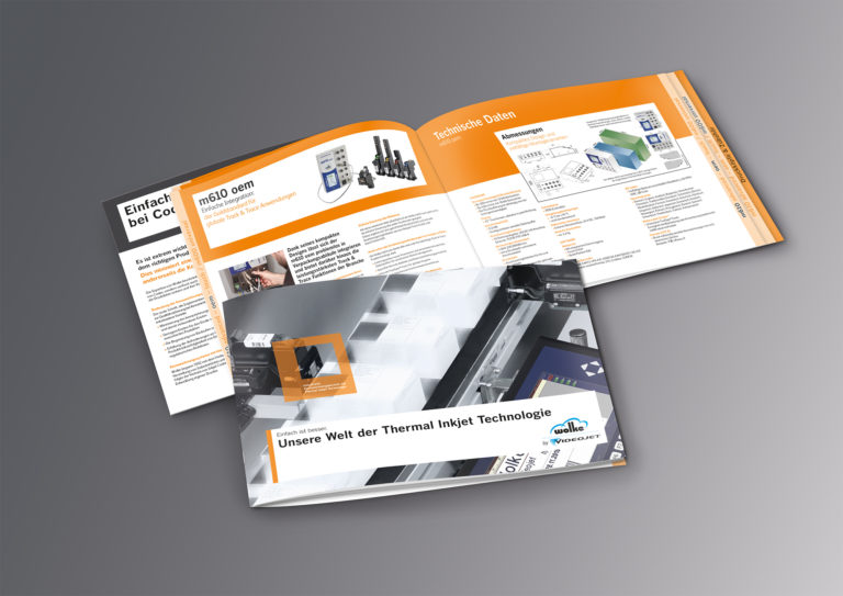 PU Einblick: Produktbroschüre mit Register