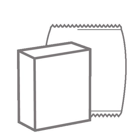 Icon Verpackungsdesign